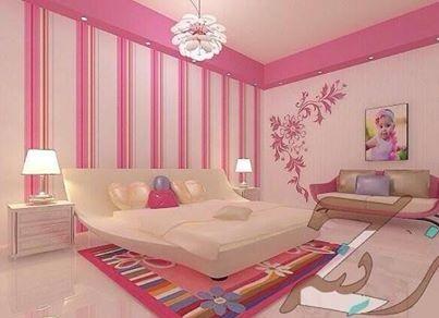 بويات غرف روز للنوم