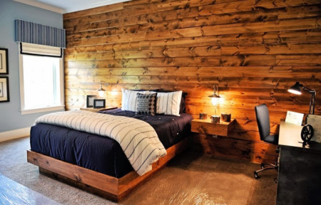 خشب غرف نوم