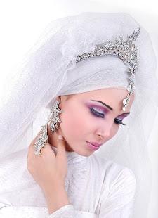 لفات طرح زفاف 2014 مميزة