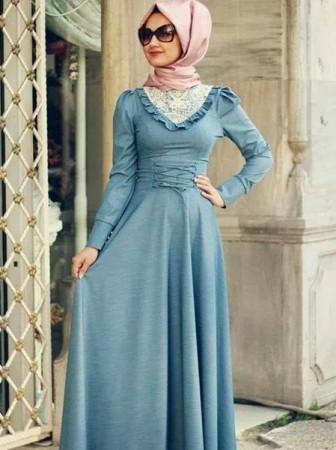 ملابس بنات محجبات 2014