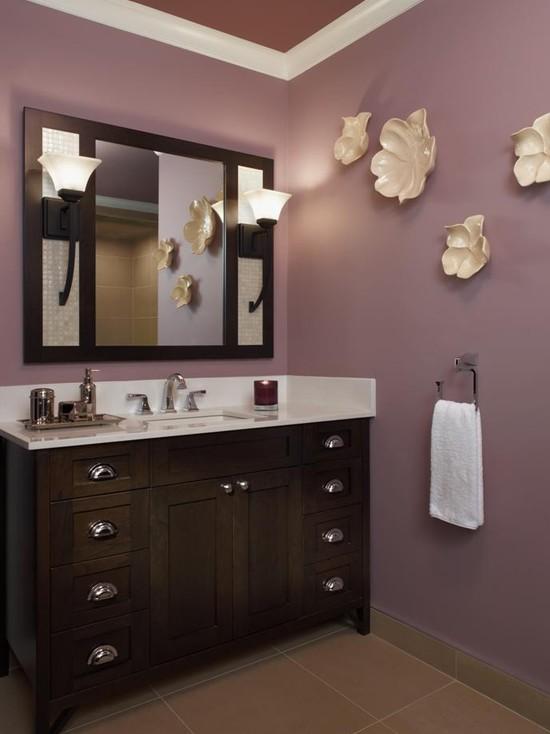 - Purple paint colors for bathrooms ...