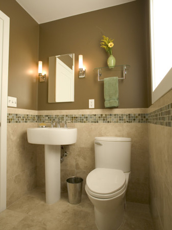 صور حمامات ضيقة