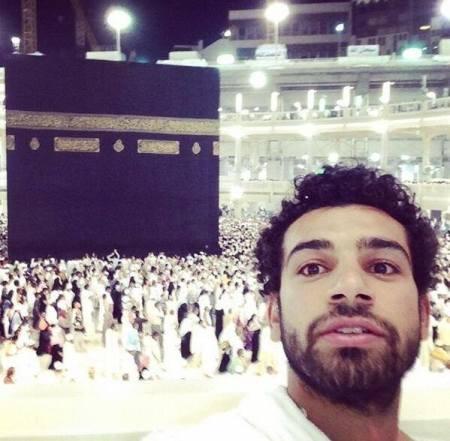 محمد صلاح في العمرة