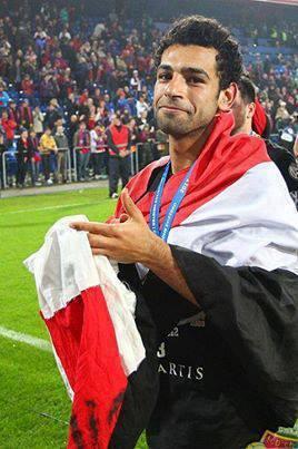 footballer Mohamed Salah