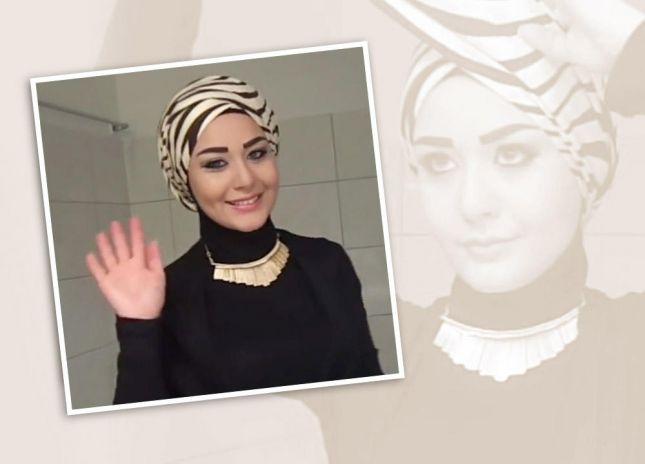 احدث لفات الطرح جديدة ولفات حجاب بالخطوات (1)