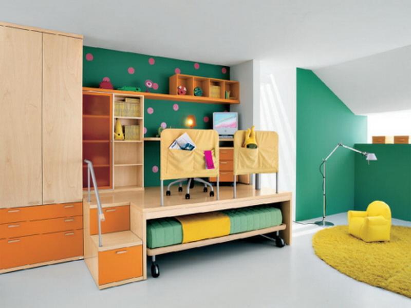 الوان غرف نوم اطفال (5)