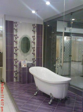 تصميمات حمامات باللون الأبيض (3)