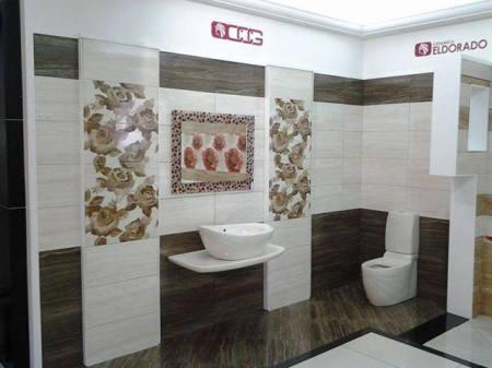 تصميمات حمامات باللون الأبيض