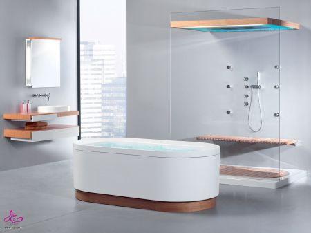 تصميمات حمامات جديدة