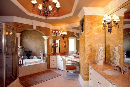 تصميم حمامات