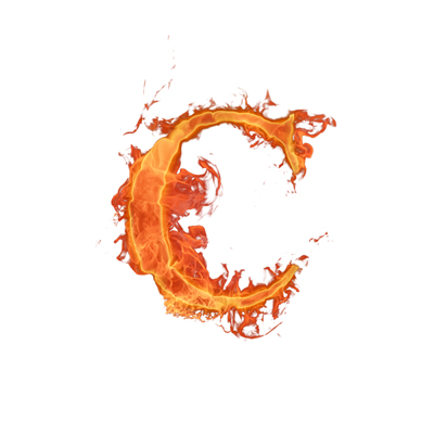 حرف c
