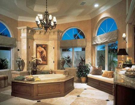 حمامات منوعة