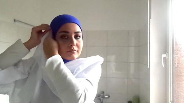 خطوات لفات حجاب محجبات (11)