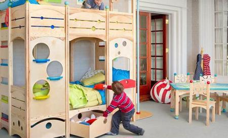 دهان غرف نوم اطفال