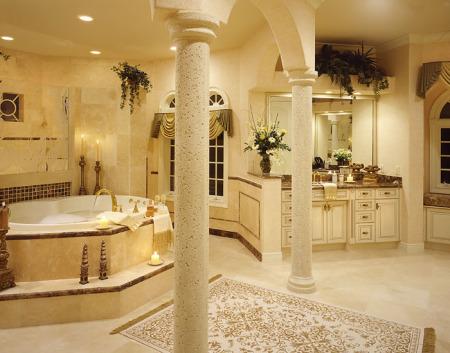 ديكورات حمامات جديدة