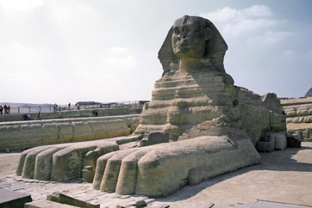 Le grand sphinx. / The Great Sphinx / ??? ????? ?????? ???????