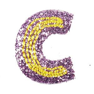 صور حرف c بنفسجي