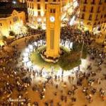 صور عن لبنان بالليل