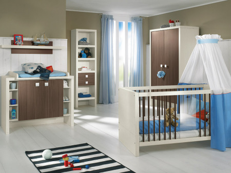 غرف نوم اطفال ازرق