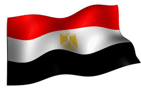 مصر علم يرفرف