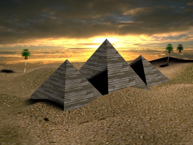 مصر والاهرامات