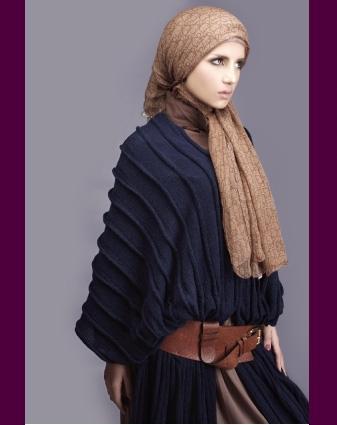 23ac388ea4911 ملابس حوامل للمحجبات بتصميمات مودرن