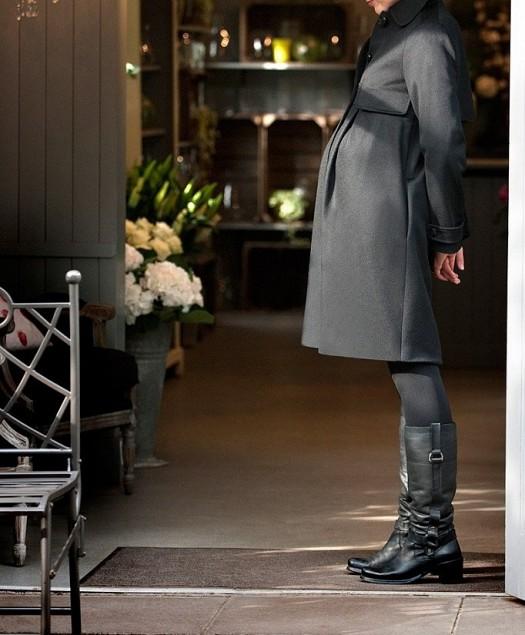 f13822416e367 ملابس حوامل للمحجبات بتصميمات مودرن