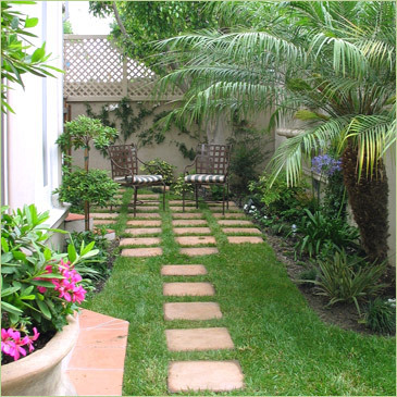 تصميم حدائق صغيرة للمنازل