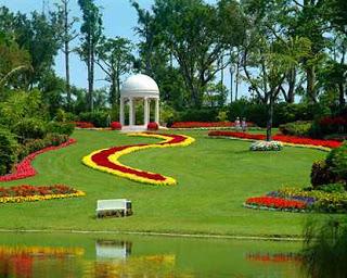 تصميم حدائق صغيرة