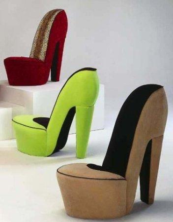 كرسي شكل شوز
