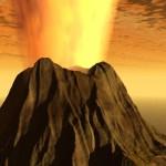 طبيعية بركان