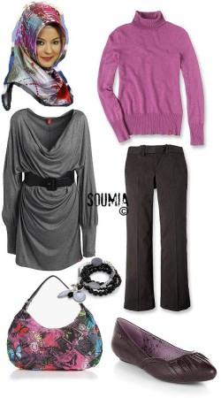 ملابس-محجبات-شتاء-2014-للبنات