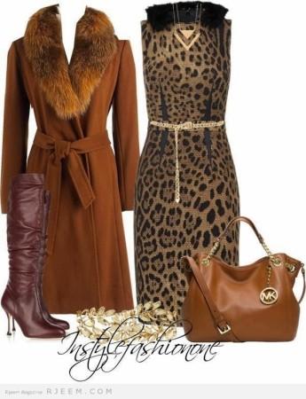 ملابس محجبات 2015 للشتاء (3)