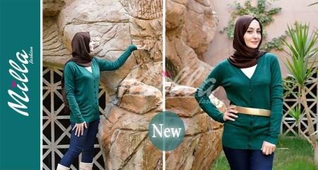 ملابس ميلا فاشون للمحجبات شتاء 2015 (2)