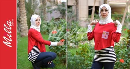 ملابس ميلا فاشون للمحجبات شتاء 2015 (4)