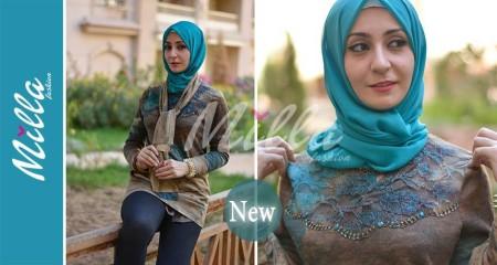 ملابس ميلا فاشون للمحجبات شتاء 2015 (8)