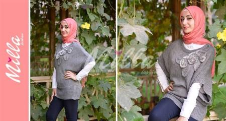 ملابس ميلا فاشون للمحجبات شتاء 2015 (9)