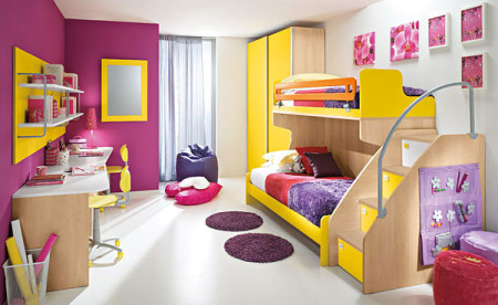 الوان غرف نوم اطفال