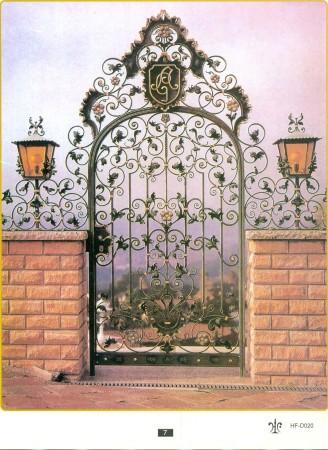 تصميم باب حديد