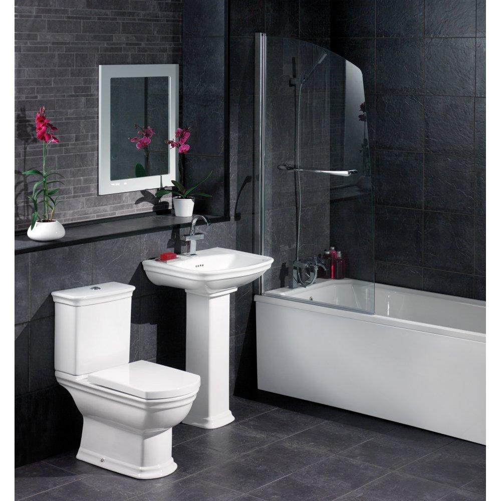 Lavender And Black Bathroom: صور ديكورات حمامات 2015
