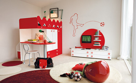 ديكورات غرف نوم اطفال (3)