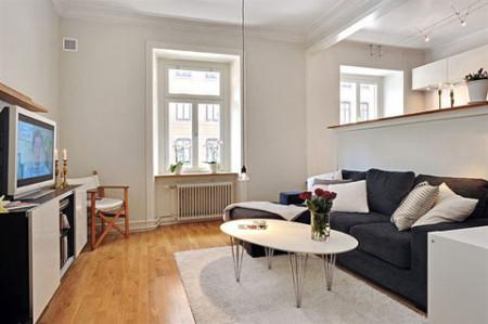 ديكور-شقة-صغيرة-كلاسيكية