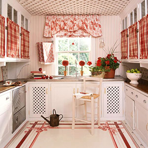 ستائر مطبخ روز