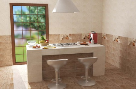 سيراميك كليوباترا فخمة للمطبخ