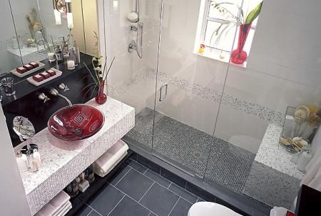 صور حمامات بيضاء