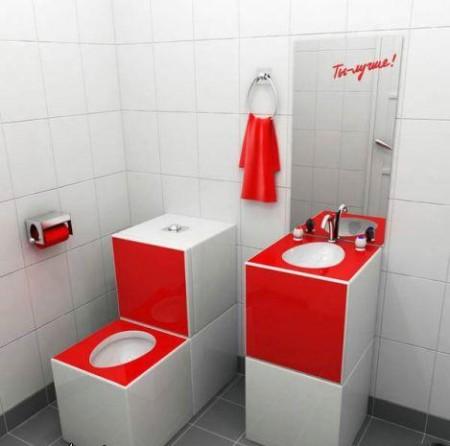 صور حمامات حمراء