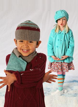 ملابس اولاد شتوي وبنات