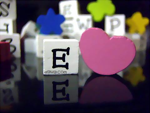 صور حرف E حرف اي ميكساتك