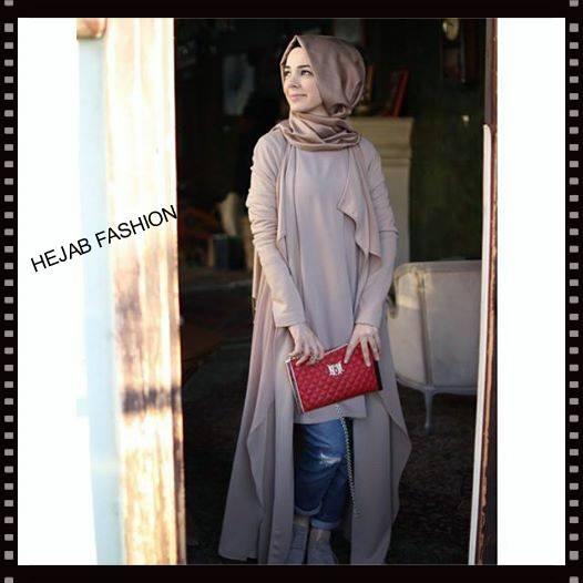 ea3e6491b39c6 ملابس محجبات بأحدث صيحات الموضة