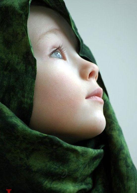 صور أطفال محجبات كيوت وقمرات ميكساتك